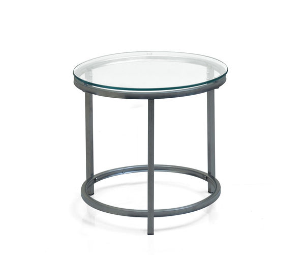 Britz Side Table Round - @home Nilkamal,  clear