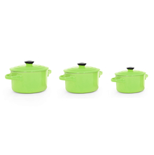 Bergner Stoneware Serve Ware Set with Lid - Green