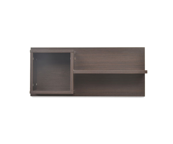 Candice Wall Shelf Vermount - @home Nilkamal,  brown