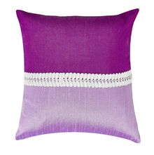 12'x12' Patch Cushion Cover - @home Nilkamal,  purple