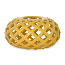 Urban Sun Net Candle Holder - @home by Nilkamal, Brown