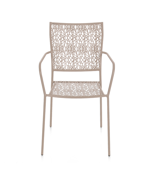 Berry Garden Chair- @home By Nilkamal, Taupe