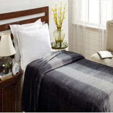 Flannel Single Blanket - @home Nilkamal,  black