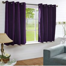 44'x60' Moushi Window Curtain - @home Nilkamal,  purple