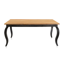 Miraya 6 Seater Dining Table - @home By Nilkamal, Silver Grey