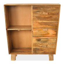 Casa Chest of 3 Drawers - @home by Nilkamal, Natural