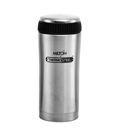 Milton Thermosteel Optima 350 ml Flask - Silver