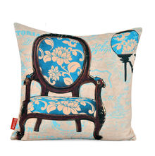 Ixora Chair Cushion Cover 2 Pieces - @home by Nilkamal, Teal