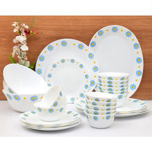Laopala Diva Saphire Charm 27 Pieces Dinner Set - Ivory