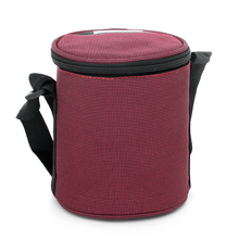 Bergner Super Set of 3 Lunch Box with Bag - Maroon