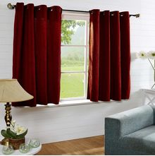 44'x60' Moushi Window Curtain - @home Nilkamal,  maroon