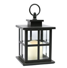 Lantern with LED Flameless Candle - @home by Nilkamal