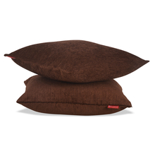 Moshi 60 x 60 cm 2 pieces Cushion Cover - @home by Nilkamal, Brown