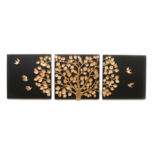 Tree of Life Wall Decor - @home by Nilkamal, Black & Gold