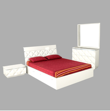 Margery Queen Bedroom Set - @home by Nilkamal, White