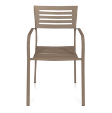 Nilkamal Retro Chair With Arm, Grey