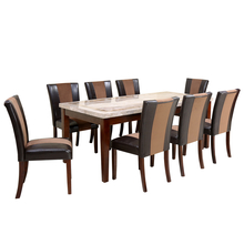 Jenn 8 Seater Dining Set - @home by Nilkamal, Beight & Walnut