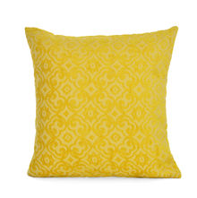 Curent 40 x 40 cm Cushion Cover - @home by Nilkamal, Yellow