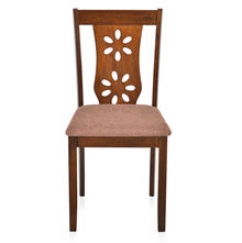 Sutlej Dining Chair with Cushion - @home by Nilkamal, Antique Cherry
