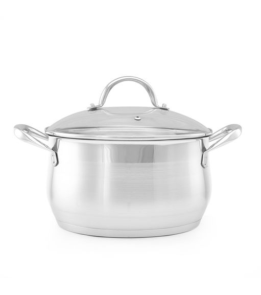 Bergner 24 cm Casserole with Glass Lid