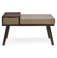 Matrix Bench - @home Nilkamal,  walnut