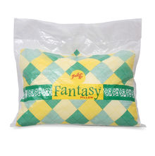 Fantasy 46 cm x 69 cm Pillow - @home by Nilkamal, White