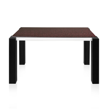 Fortis 4 Seater Dining Table - @home by Nilkamal, Black