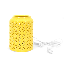 Delight Table Lamp - @home by Nilkamal, Yellow