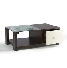 Center Table Verona - @home Nilkamal,  dark walnut