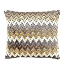 16'x16' Chevron Cushion Cover - @home Nilkamal,  brown