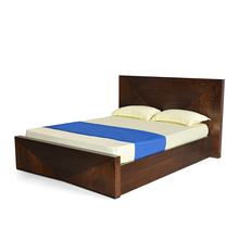 Nixon King Size Bed - @home by Nilkamal, Cherry