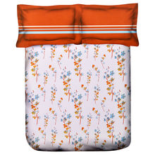 Floral Bed In a Bag - @home Nilkamal,  orange