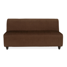 Bolt 3 Seater Sofa without Arm - @home by Nilkamal, Brown