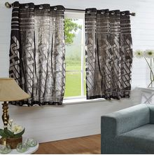 44'x60' Bricks Window Curtain - @home Nilkamal,  black