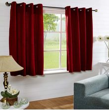44'x60' Moushi Window Curtain - @home Nilkamal,  red