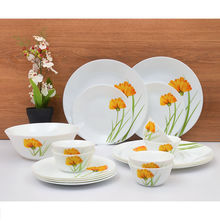 Laopala Diva Glowing Charm 19 Pieces Dinner Set - Ivory