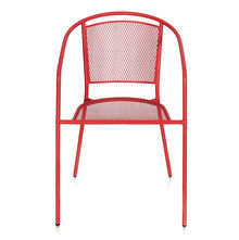 Rosie Garden Chair - @home By Nilkamal, Red
