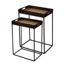 Tryst Nest Table Set Of 2 - @home By Nilkamal, Brown