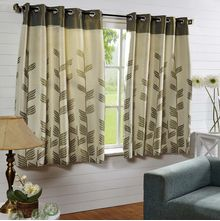 44'x60' Victoria Window Curtain - @home Nilkamal,  green