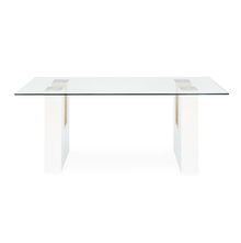 Fusion 6 Seater Dining Table - @home by Nilkamal, Maple & White