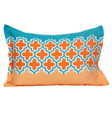 Dalliance Jharokha 45 cm x 68 cm Pillow Cover Set of 2 - @home by Nilkamal, Teal