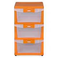 Nilkamal Chester Storage Drawer Series -23,  orange