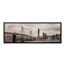 Urban City Life Picture Frame - @home by Nilkamal, Yellow