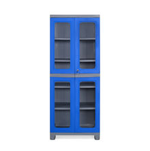 Nilkamal FB3 Freedom Cupboard - Deep Blue and Grey