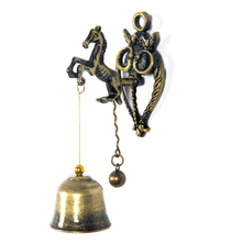 Horse Small Wall Magnet Wind Chime - @home by Nilkamal