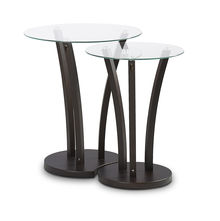 Viola Nest Table - @home Nilkamal,  wenge
