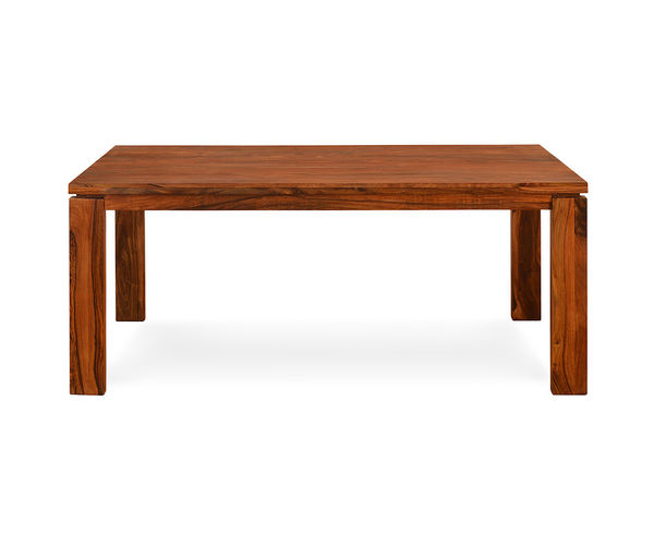 Hercules 6 Seater Dining Table - @home by Nilkamal,  walnut