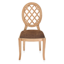 Miraya Dining Chair - @home By Nilkamal, Brown Glaze