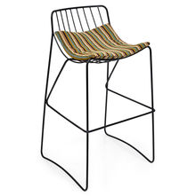 Barney Bar Stool - @home Nilkamal,  black