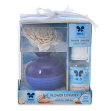 Ocean Dream 60 ml Reed Diffuser with Pot - @home by Nilkamal